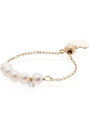 PERSÉE 18kt yellow pearl ring