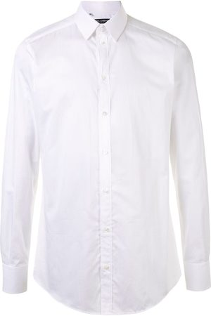 Dolce & Gabbana Men Shirts - Classic collar shirt