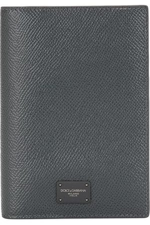 Dolce & Gabbana Men Wallets - Leather foldover cardholder