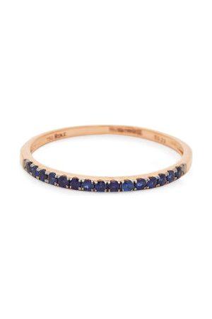 ROSA DE LA CRUZ Sapphire & 18kt Rose-gold Ring - Womens