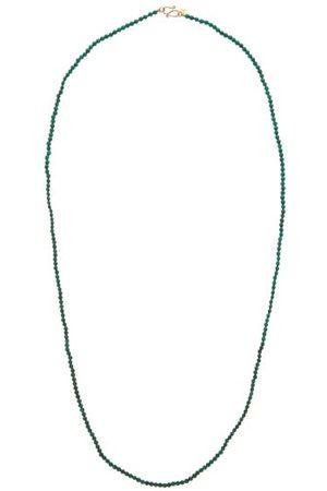 ROSA DE LA CRUZ Malachite & 18kt Gold Beaded Necklace - Womens