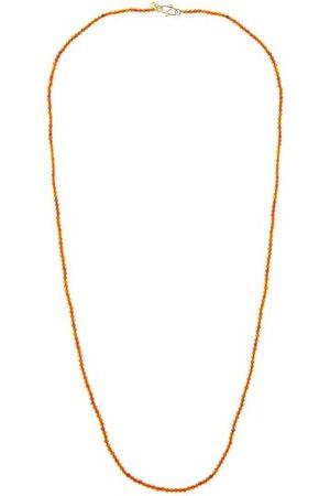 ROSA DE LA CRUZ Amber & 18kt Gold Beaded Necklace - Womens
