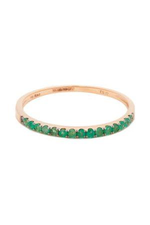 ROSA DE LA CRUZ Emerald & 18kt Rose-gold Ring - Womens
