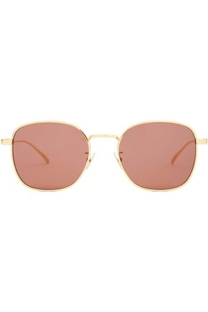 Bottega Veneta Men Round - Round Metal Sunglasses - Mens