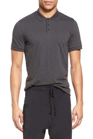 Vince Men Polo Shirts - Men's Slim Fit Slub Jersey Polo