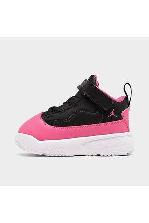 Nike Jordan Girls' Toddler Jordan Max Aura 2 Basketball Shoes in / Size 7.0 Leather/Lace