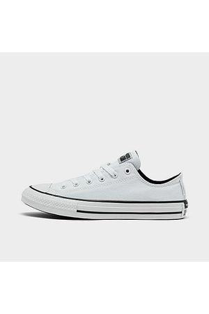 Converse Big Kids' Chuck Taylor All Star Low Top Casual Shoes in Size 4.5 Canvas