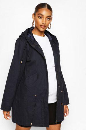 Boohoo Womens Maternity Parka Coat - - 4