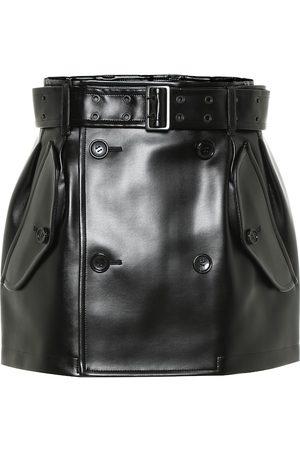 JUNYA WATANABE Faux leather miniskirt