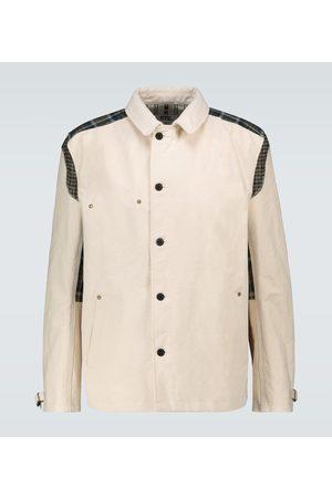 JUNYA WATANABE MAN cotton canvas overshirt