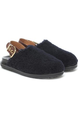 Marni Fussbet shearling slippers