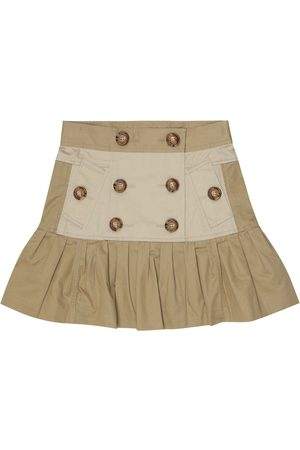 Burberry Cotton twill miniskirt