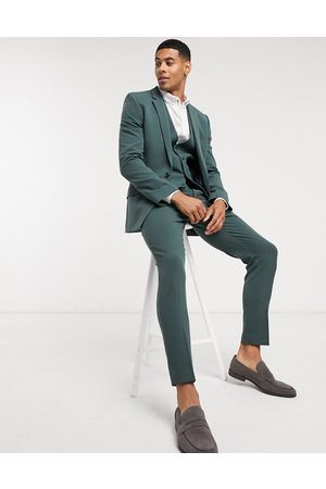 ASOS Suits - Super skinny suit jacket in forest
