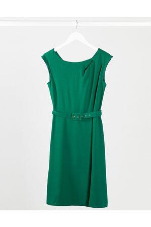 Closet Women Midi Dresses - Closet wrap skirt A-line dress in