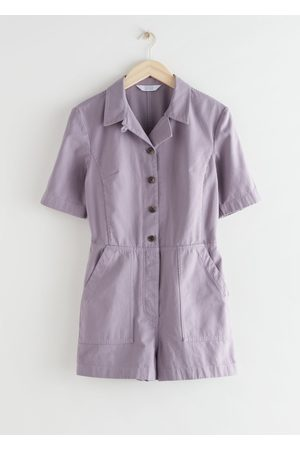 & OTHER STORIES Short Workwear Boilersuit