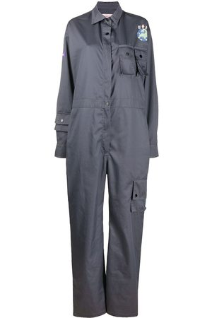Natasha Zinko Uniform jumpsuit - Grey