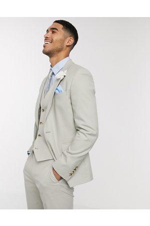 ASOS Suits - Wedding skinny suit jacket in sage