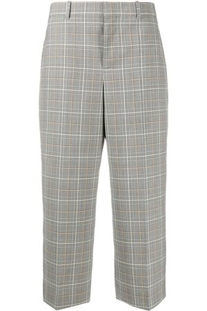 Givenchy High-waisted plaid culottes - Neutrals