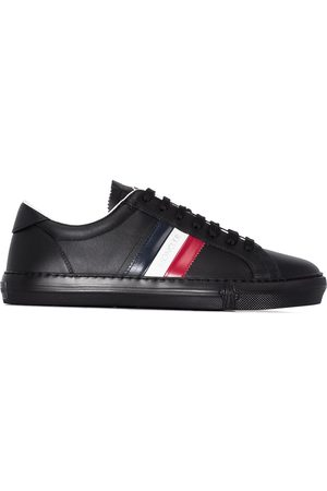 Moncler New Monaco striped sneakers