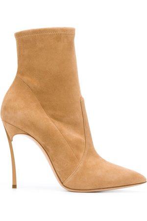Casadei Blade ankle boots - Neutrals