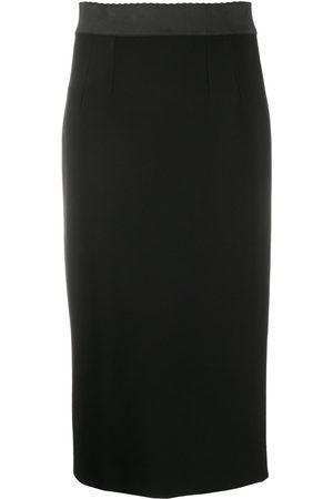 Dolce & Gabbana Jersey calf-length pencil skirt