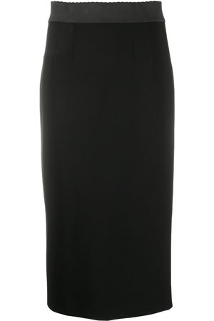 Dolce & Gabbana Two-tone pencil skirt
