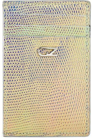 Giuseppe Zanotti Men Wallets - Iridescent effect long cardholder