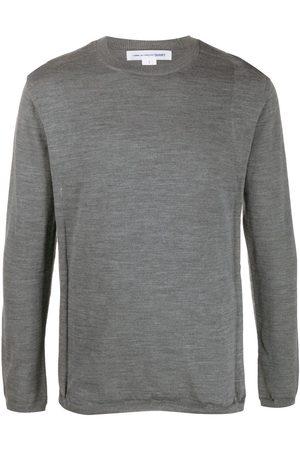 Comme des Garçons Men Sweatshirts - Round neck jumper - Grey