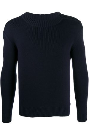 Saint Laurent Crew-neck long-sleeve jumper