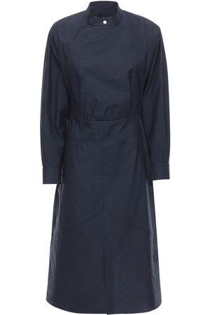 Isabel Marant Talbot Tailored Poplin Midi Dress