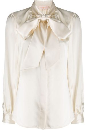 Tory Burch Pussy bow blouse - Neutrals