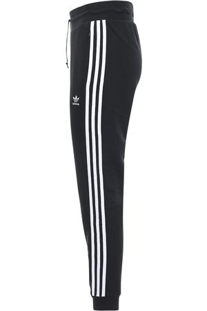 adidas Logo Slim Cotton Blend Sweatpants