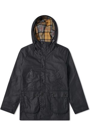 Barbour Men Outdoor Jackets - SL Bedale Hooded Wax Jacket - White Label