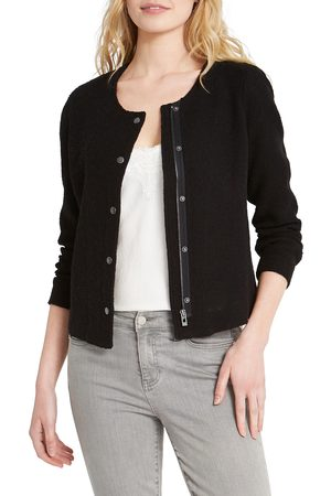 NIC+ZOE Women's Fall Nights Crop Knit Jacket