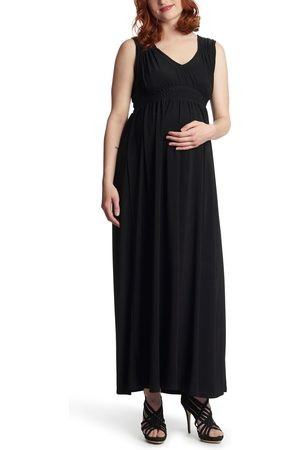 Everly Grey Women's Valeria Maternity/nursing Maxi Dress