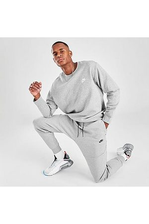 Nike Men's Tech Fleece Taped Jogger Pants in Grey Size X-Small Cotton/Polyester/Fleece