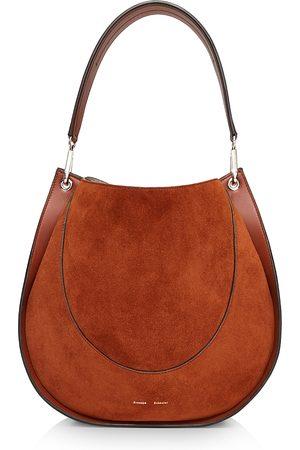 Proenza Schouler Large Arch Leather & Suede Shoulder Bag