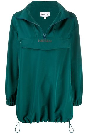 Kenzo Logo print pullover jacket