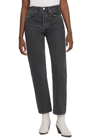 AGOLDE Straight Leg Jeans in Tea