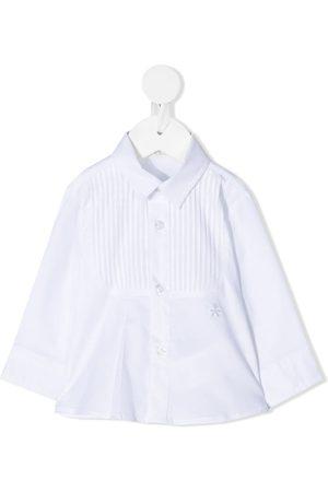 Le Bebé Enfant Ribbed bib formal shirt