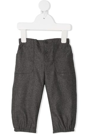 BONPOINT Play straight leg trousers - Grey