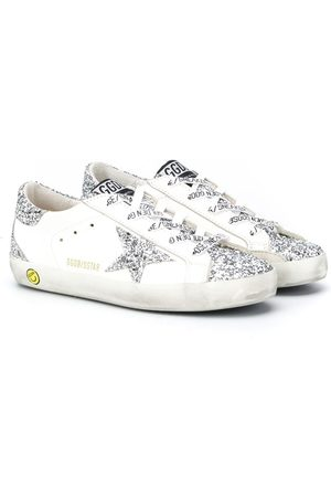 Golden Goose Superstar glitter low-top sneakers