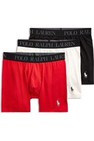 Polo Ralph Lauren Cotton Stretch 4D-Flex Lightweight Boxer Briefs, Pack of 3