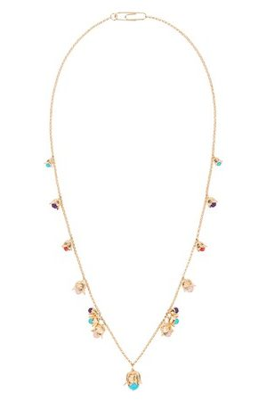 Aurélie Bidermann Lily of the Valley long necklace