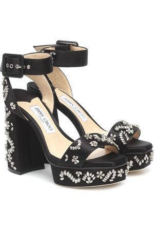 Jimmy Choo Jax 125 embellished platform sandals