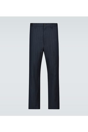 JUNYA WATANABE Washed pinstriped pants