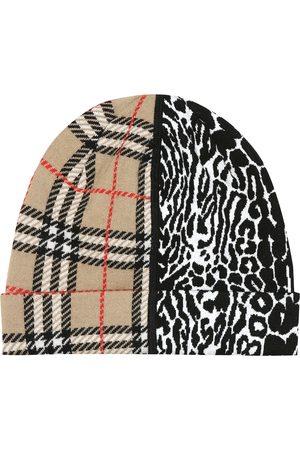 Burberry Vintage Check merino wool beanie