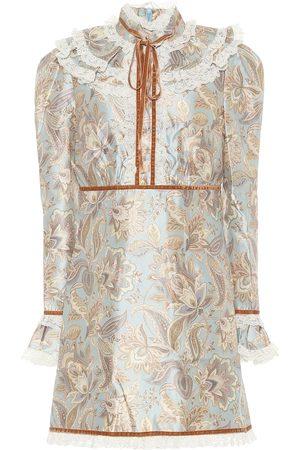 ZIMMERMANN Ladybeetle wool-blend minidress