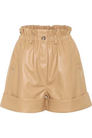 Frankie Shop Exclusive to Mytheresa - High-rise faux leather shorts