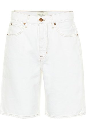 SLVRLAKE London high-rise denim shorts
